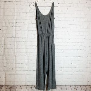 H&M DIVIDED Grey Sleeveless Jumpsuit with pockets
